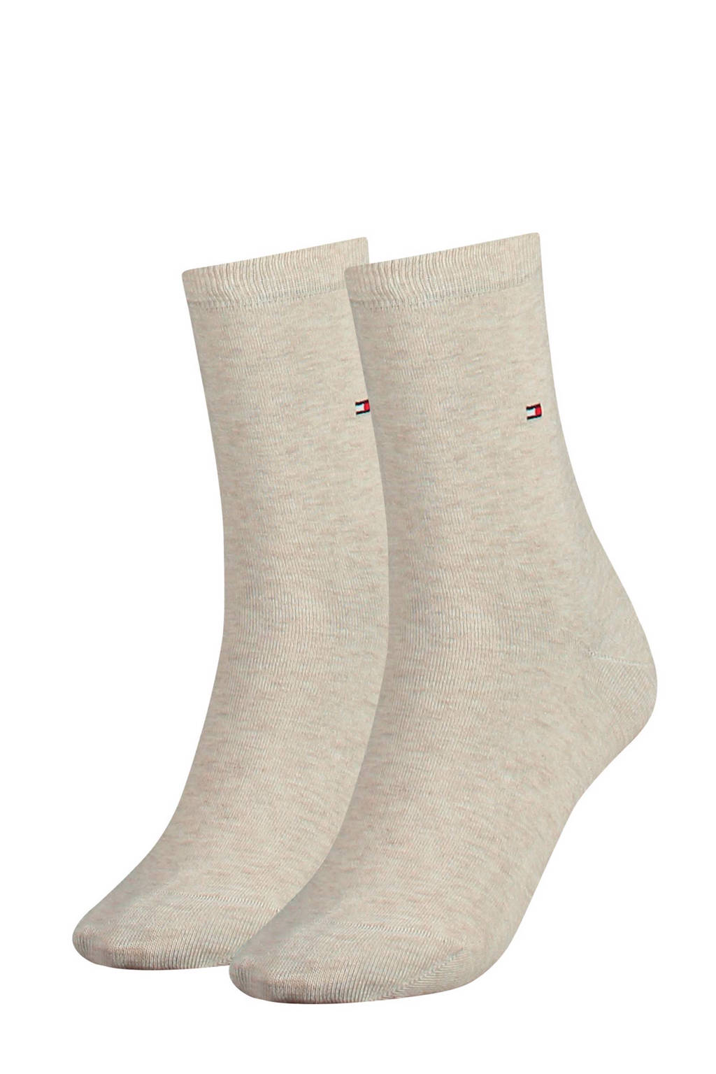 Tommy Hilfiger sokken (2 paar), Beige