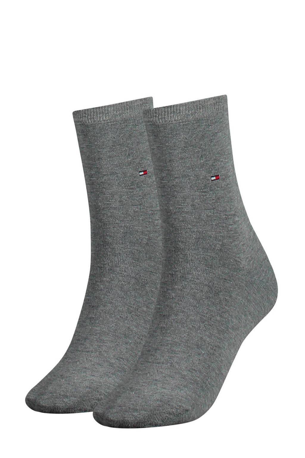 Tommy Hilfiger sokken - set van 2 grijs, Grijs