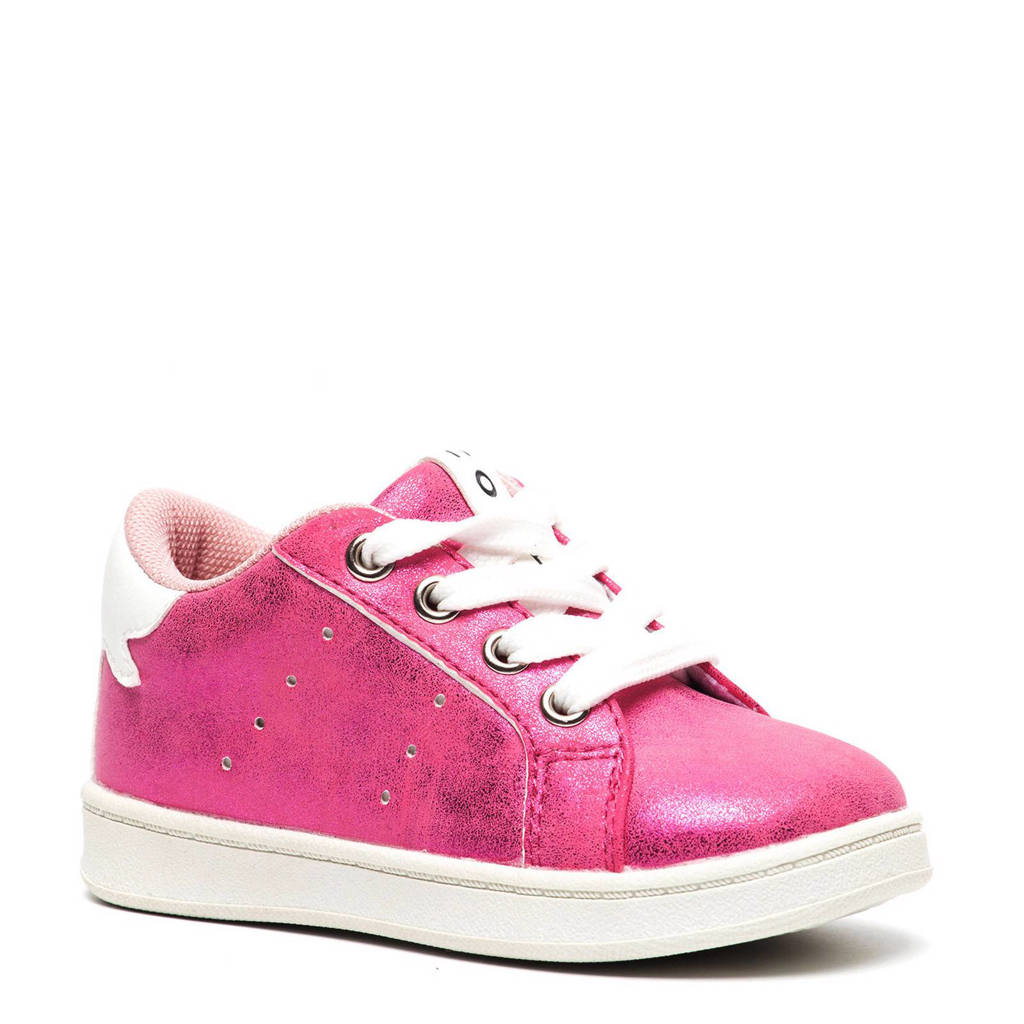 Scapino Blue Box  metallic sneakers, Roze