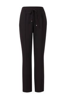 pantalon met contrasterende zij-streep