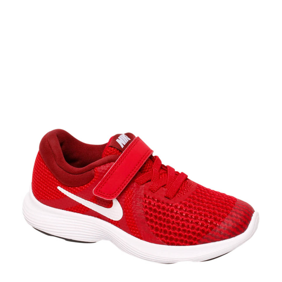 Nike Revolution 4 sneakers rood, Rood/wit