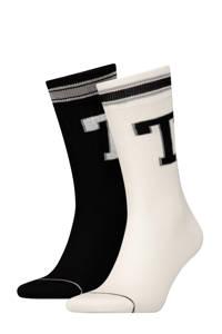 Tommy Hilfiger sokken (2 paar), Zwart/wit/grijs