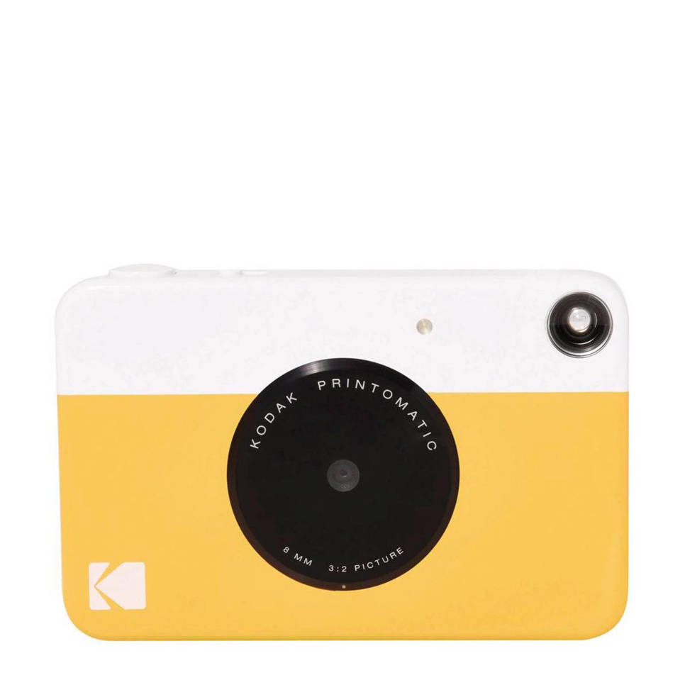 Kodak Printomatic instant compact camera, Geel