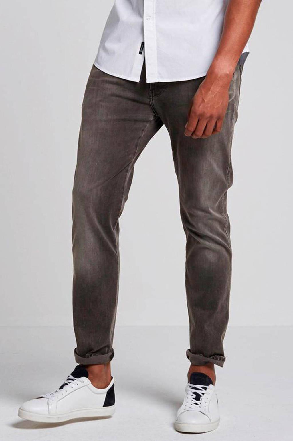 REPLAY slim fit jeans Anbass Hyperflex grey, Grey