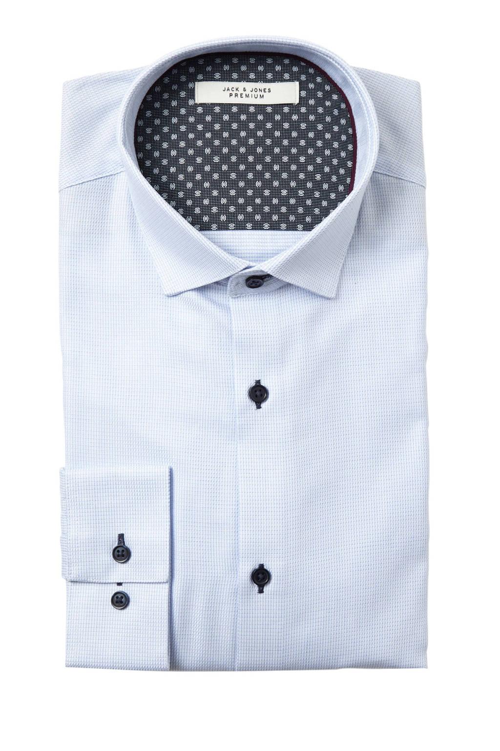 Jack & Jones Premium slim fit overhemd Adrian wit, Wit