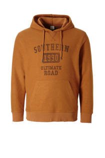 Jack & Jones Originals  hoodie okerbruin (heren)