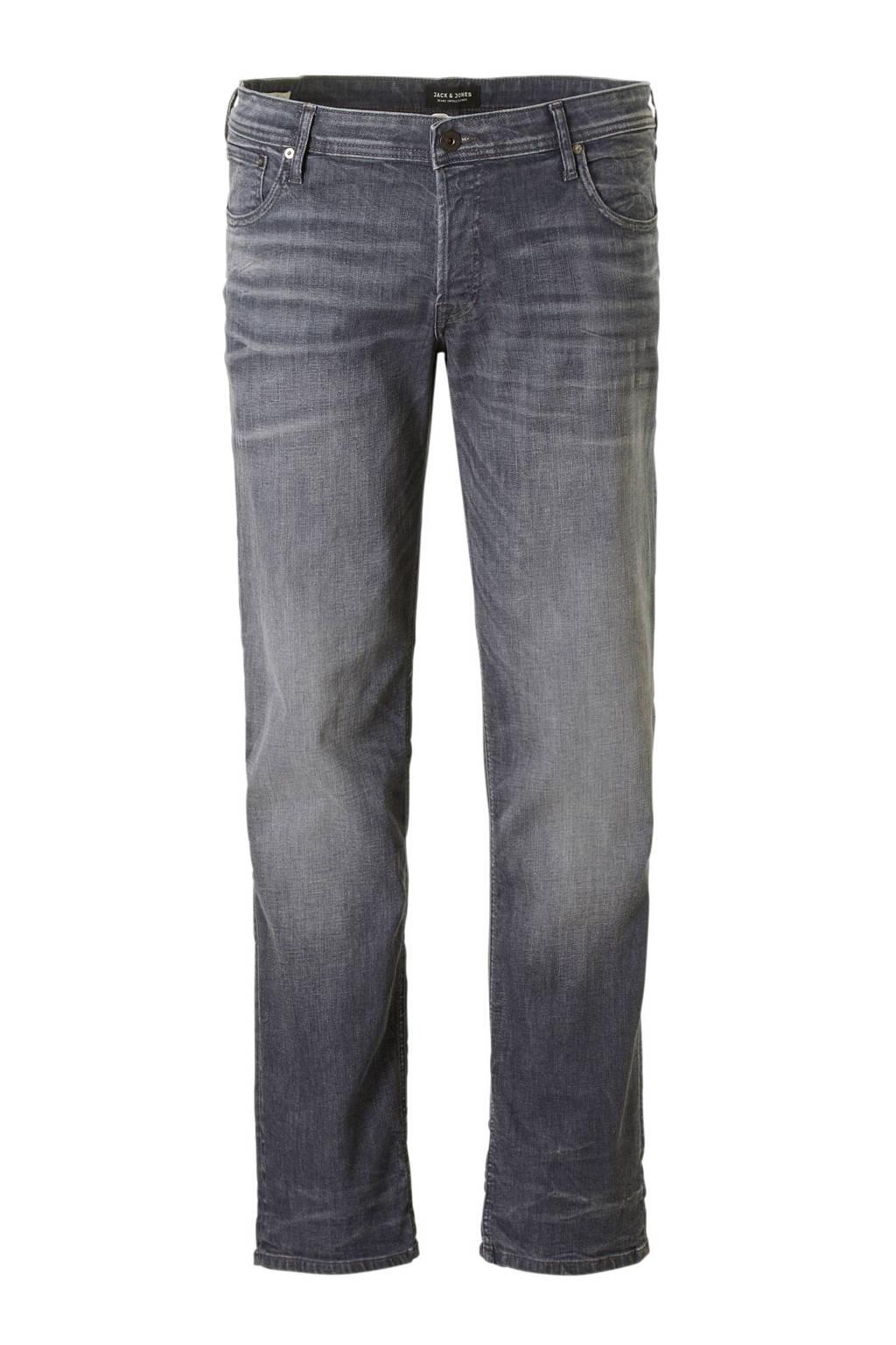 JACK & JONES PLUS SIZE slim fit jeans, Grijs