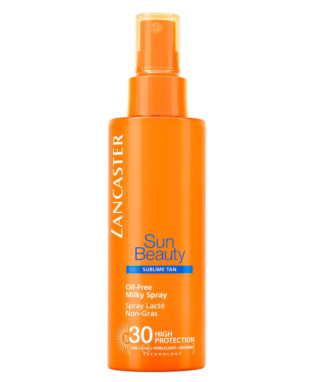 Lancaster Sun Beauty Body Oil-Free Milky Spray SPF30, Zonnefactor SPF 30