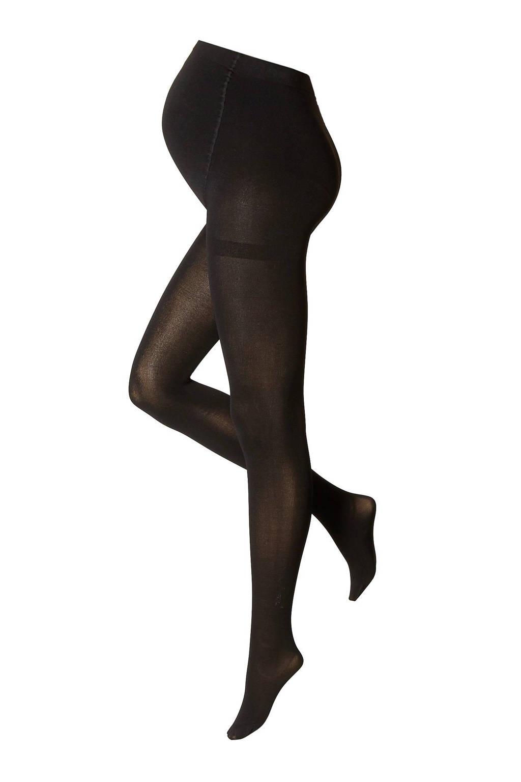 whkmp's own zwangerschapspanty 80 denier zwart, Zwart