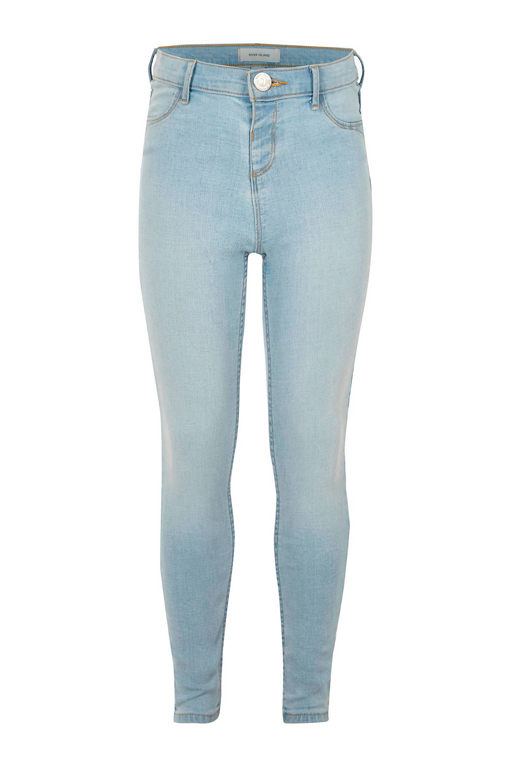 River Island denim jeans Molly, Lichtblauw