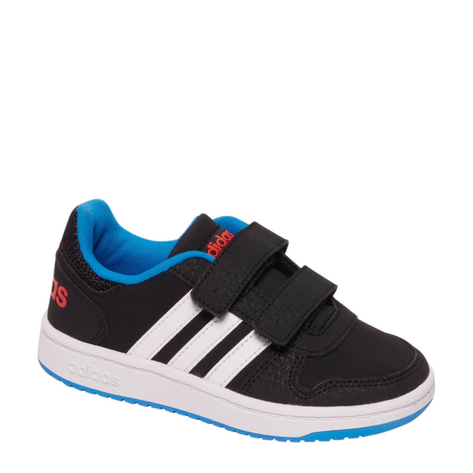 adidas schoenen zwart blauw