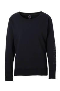 Papillon sportsweater, Zwart