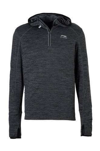 hardloopsweater antraciet