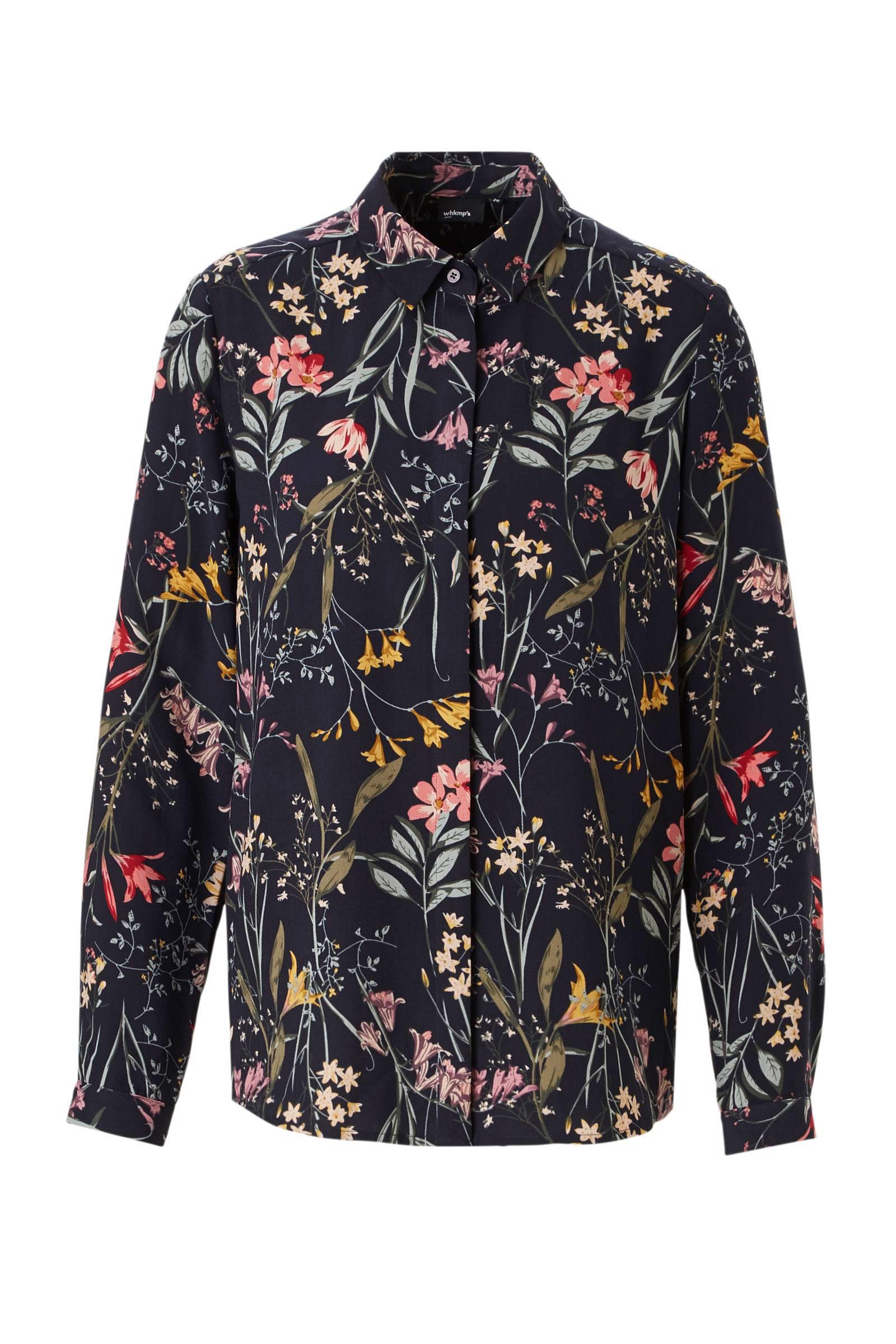 whkmp's own blouse met bloemenprint (dames)