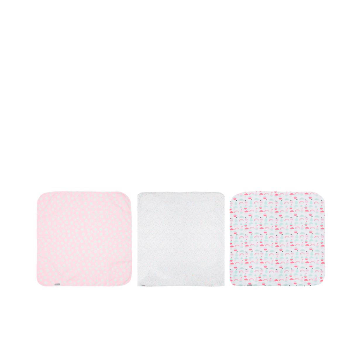bébé-jou Blush Baby hydrofiele doeken 70x70 cm (3 stuks)