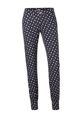 Women Bodywear pyjamabroek all over print