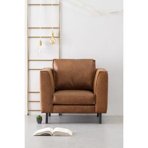 eco-leren fauteuil Rio