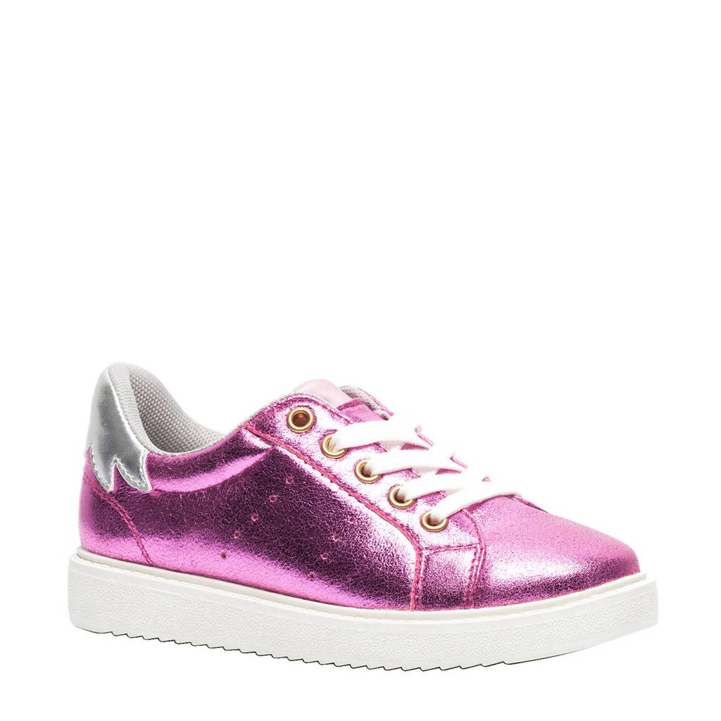 80bbabb3493 Scapino Blue Box metallic sneakers, Roze/Zilver