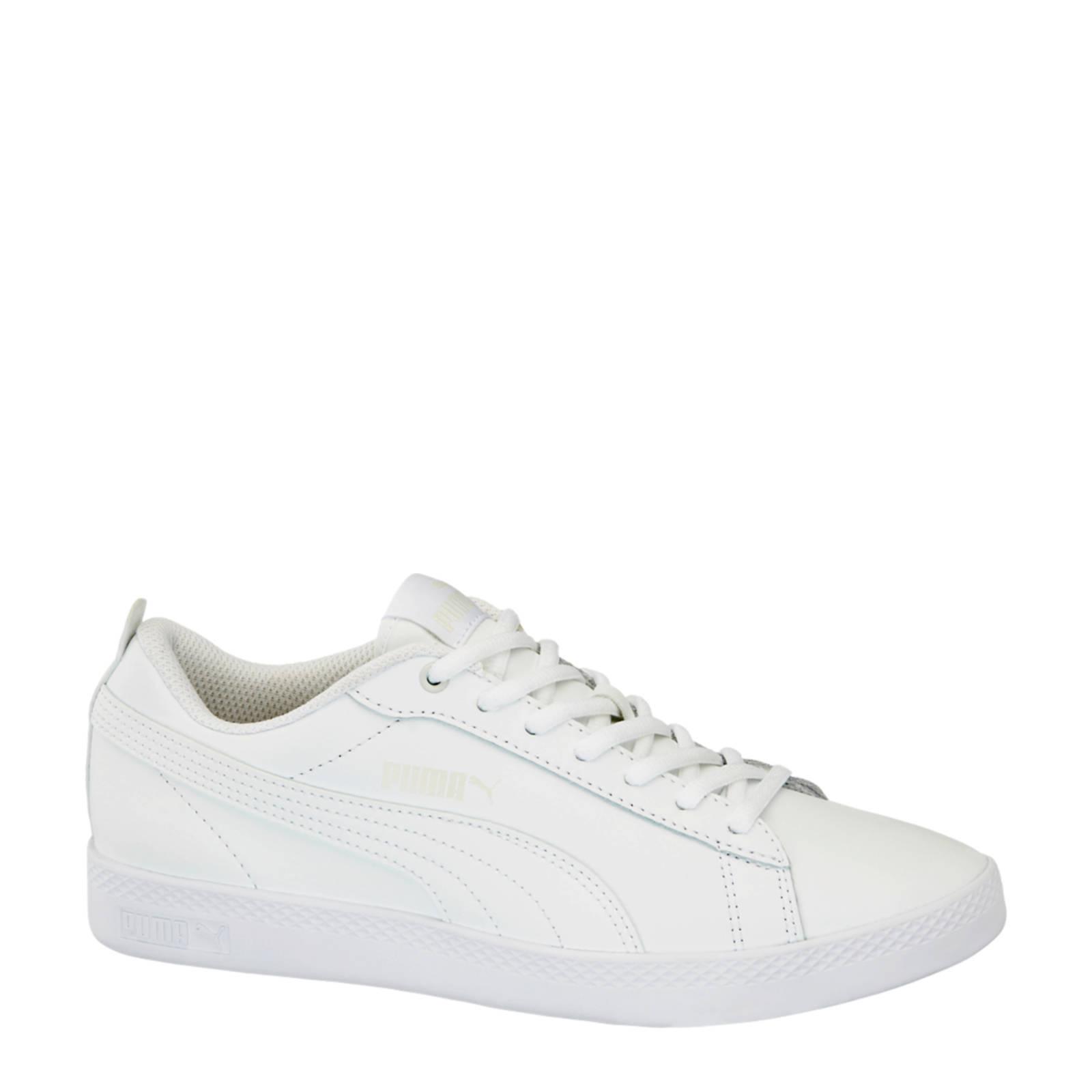 Smash V2 leren sneakers