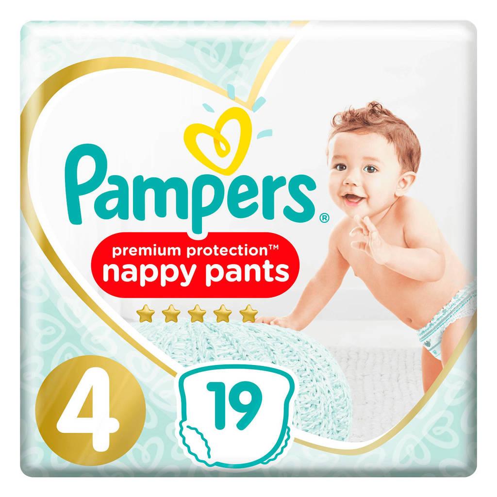 Pampers Premium Protection Pants maat 4 (9-15 kg) 19 Luierbroekjes