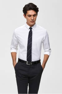 SELECTED HOMME slim fit overhemd, Wit