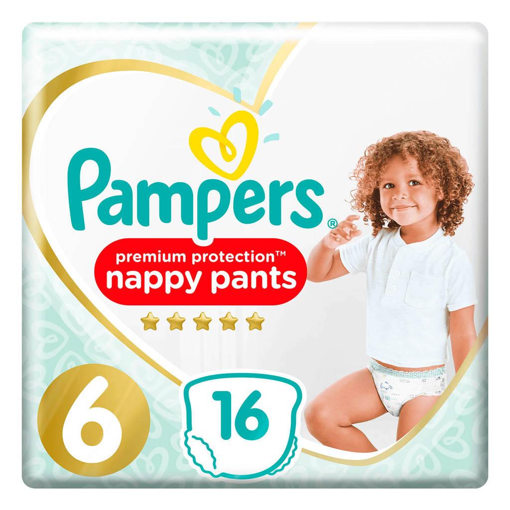 Pampers Premium Protection Pants maat 6 (15+ kg) 16 Luierbroekjes