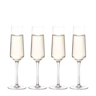 Elegance champagneglas (Ø7 cm) (set van 4)