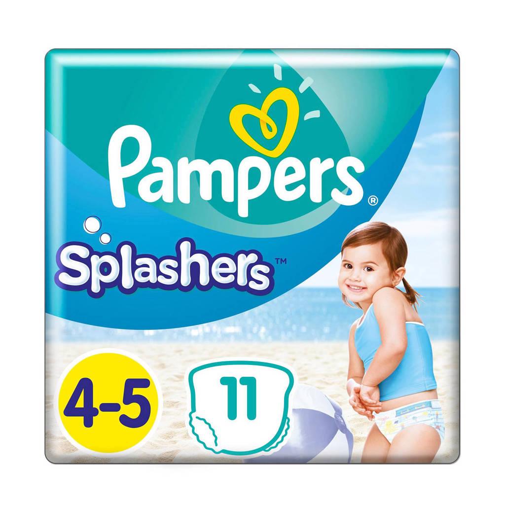 Pampers Splashers maat 4-5 (9-15 kg) 11 wegwerpbare zwemluiers, 11 stuks