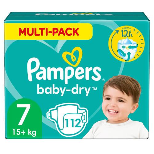 Wehkamp-Pampers Baby-Dry maandbox maat 7 (15+ kg) 112 luiers-aanbieding