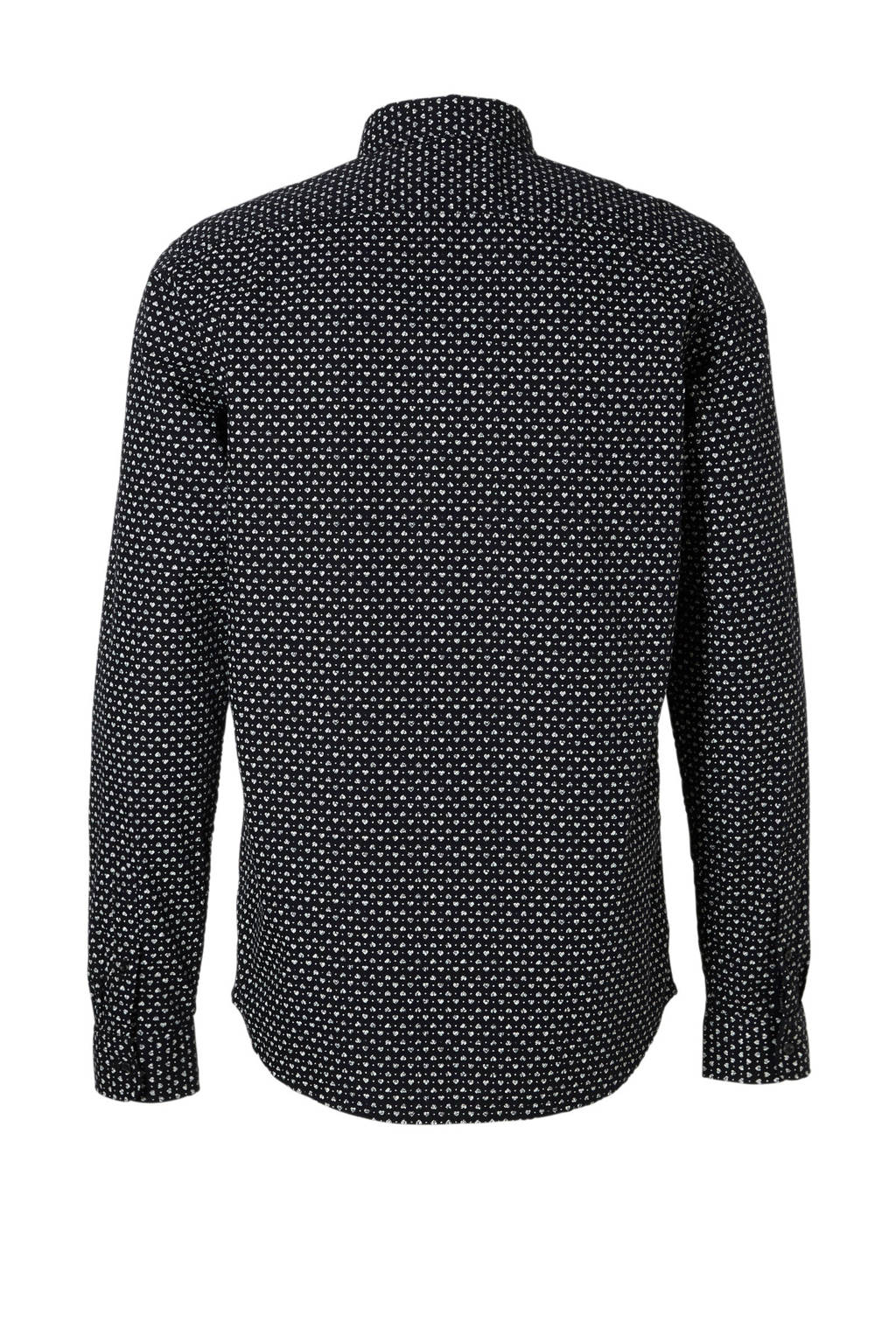 Overhemd Zwart Wit.Scotch Soda Regular Fit Overhemd Wehkamp