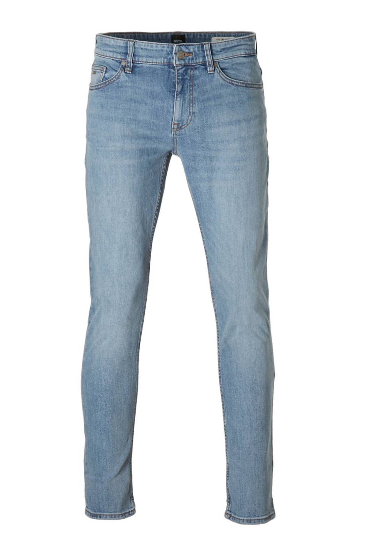 Boss Casual Delaware slim fit jeans, 442 Turquoise/Aqua