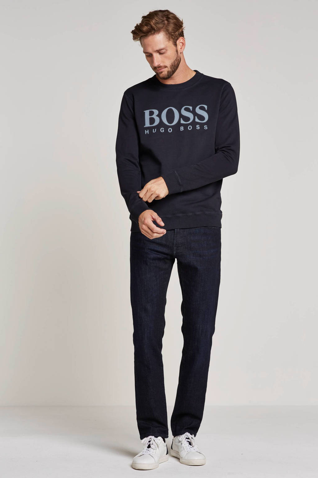 Boss Casual regular fit jeans 030 Maine, Dark denim