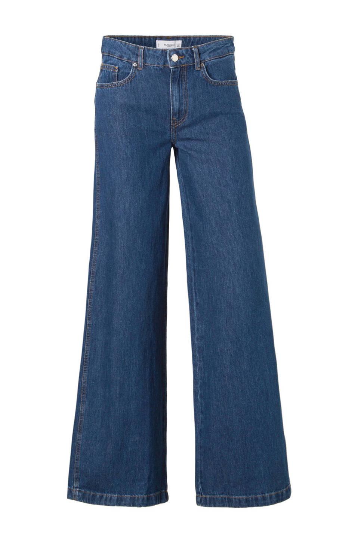 Mango flared jeans, Blauw