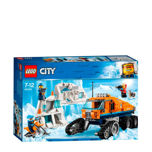 LEGO City Arctic poolonderzoekstruck 60194