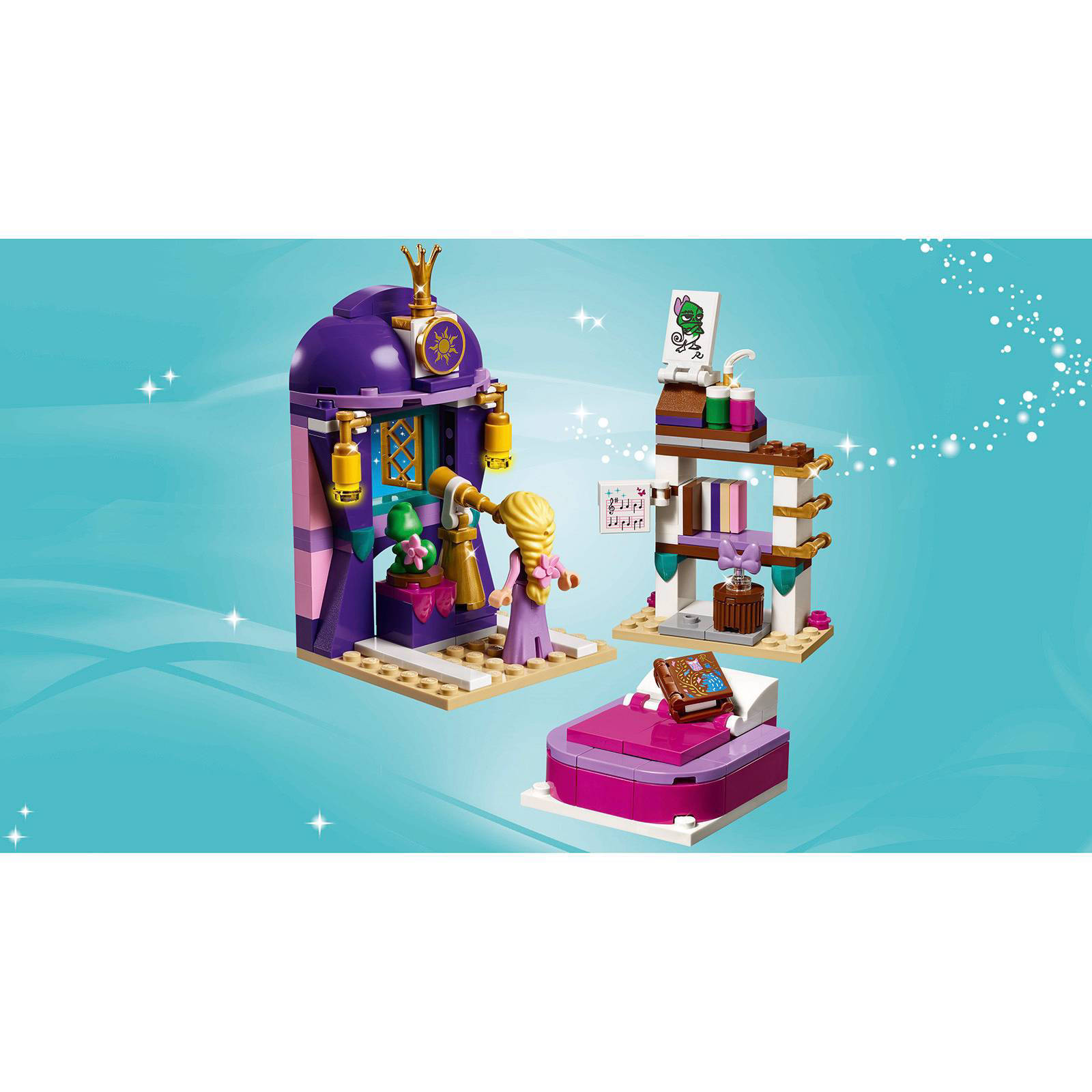 LEGO Disney Princess Rapunzel\'s slaapkamer 41156   wehkamp
