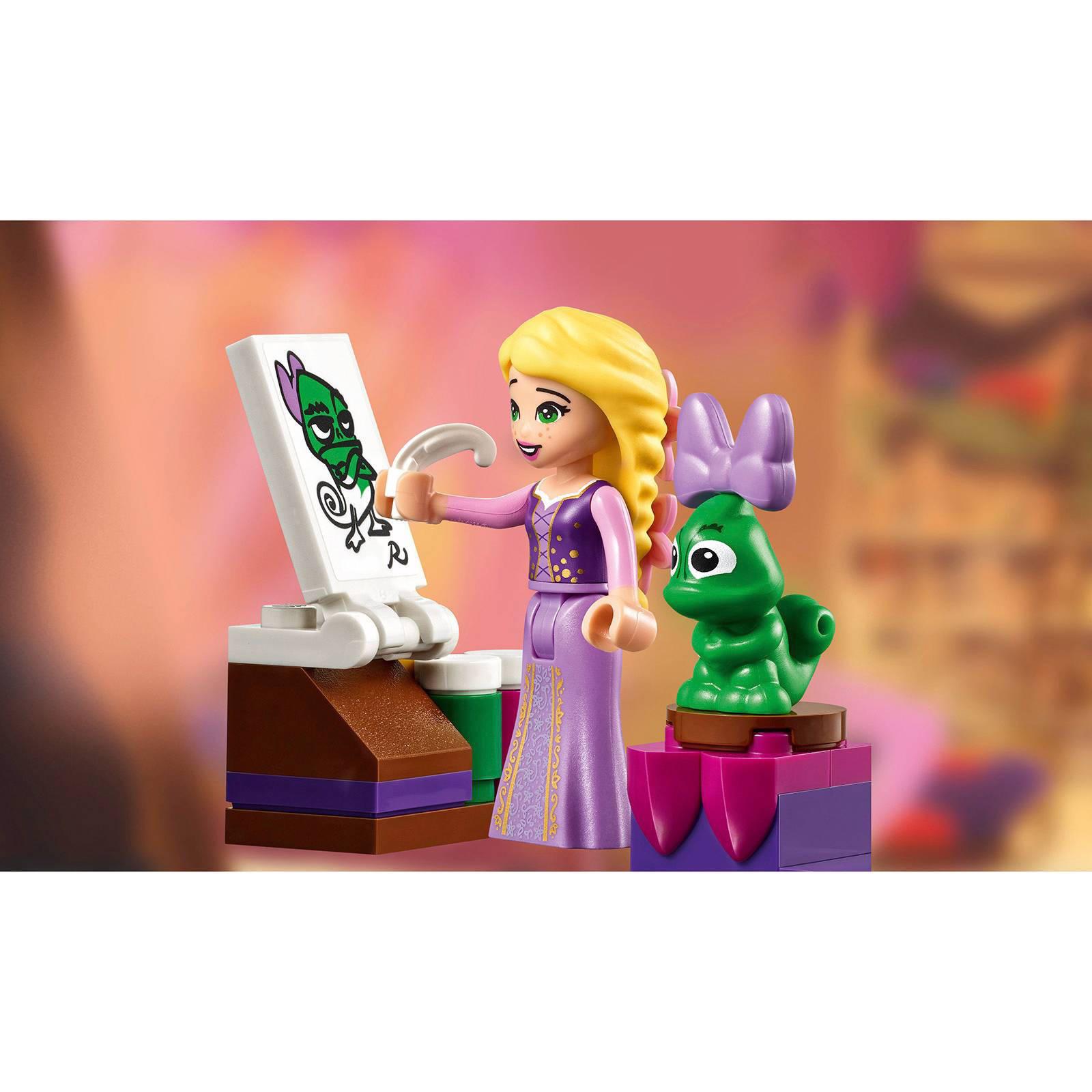 lego disney princess rapunzels slaapkamer 41156 wehkamp