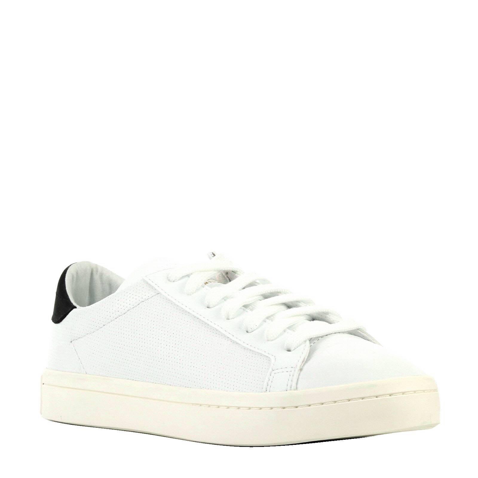Court Vantage leren sneakers