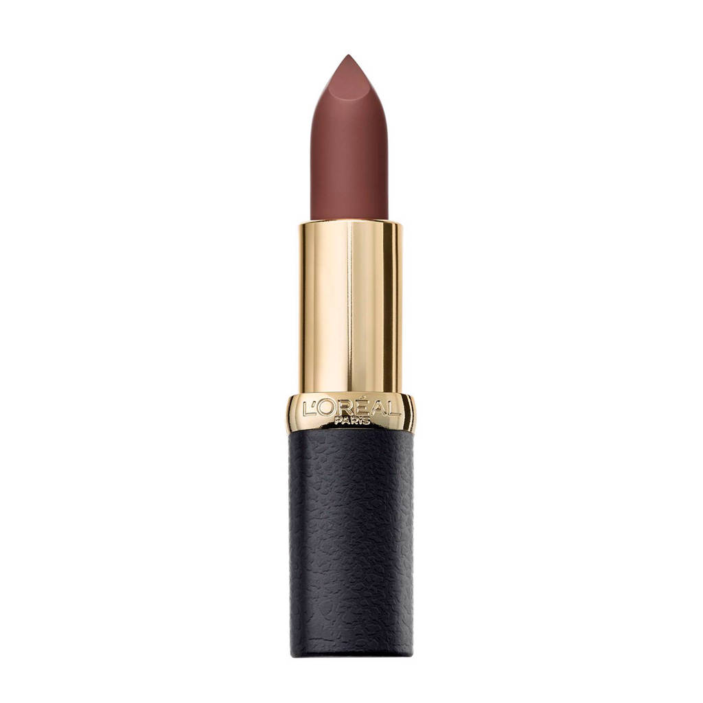 L'Oréal Paris Color Riche Matte Addiction - 3654 Bronze Sautoir- Lippenstift, 654 Bronze Sautoir