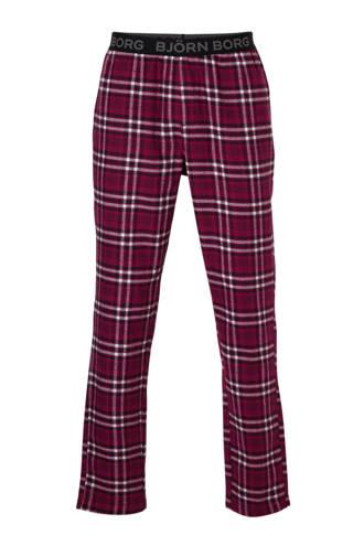 pyjamabroek geruit flanel