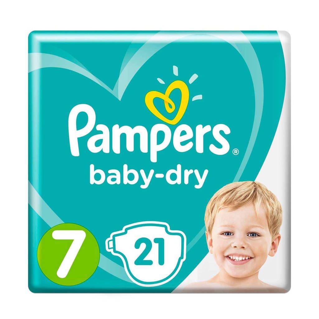 Pampers Baby-Dry maat 7 (15+ kg) 21 luiers