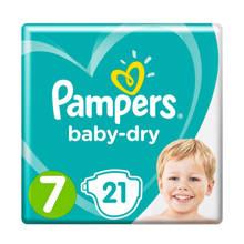 Baby-Dry maat 7 (15+ kg) 21 luiers