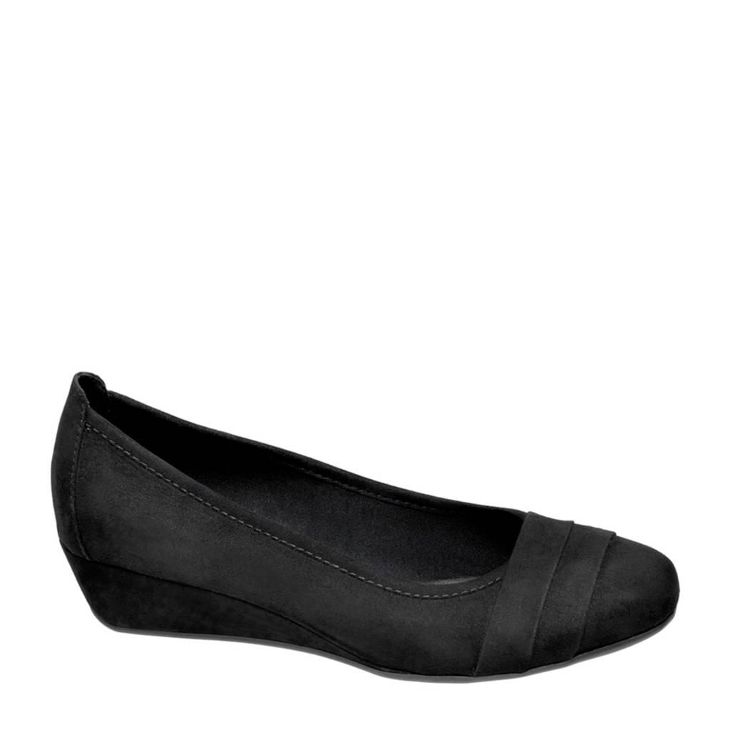 vanHaren Graceland   ballerina's zwart, Zwart