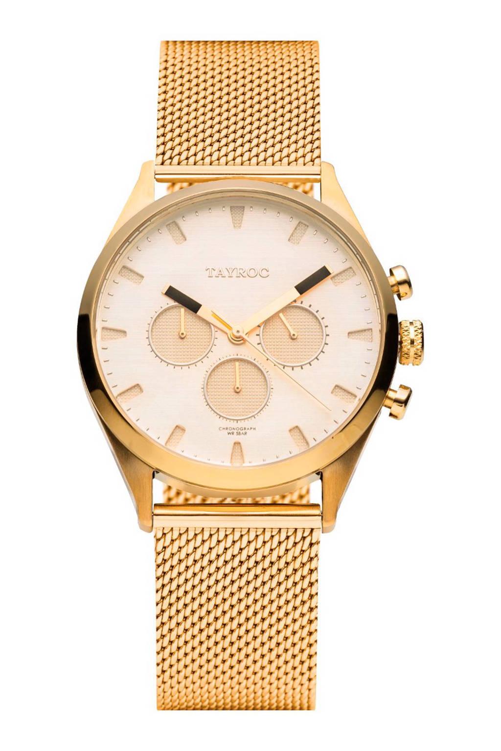 Tayroc Pioneer horloge - TXM019-L, Goud