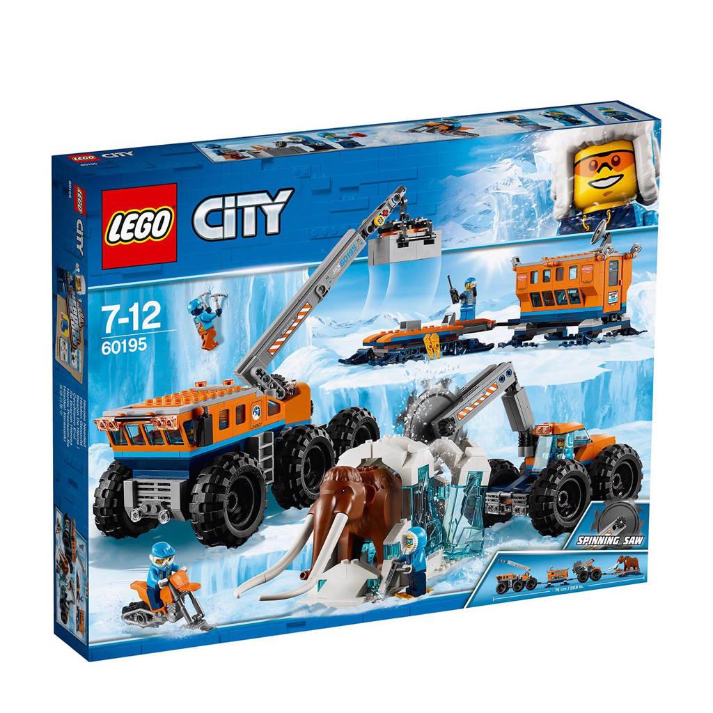 LEGO City mobiele onderzoeksbasis op de Noordpool 60195