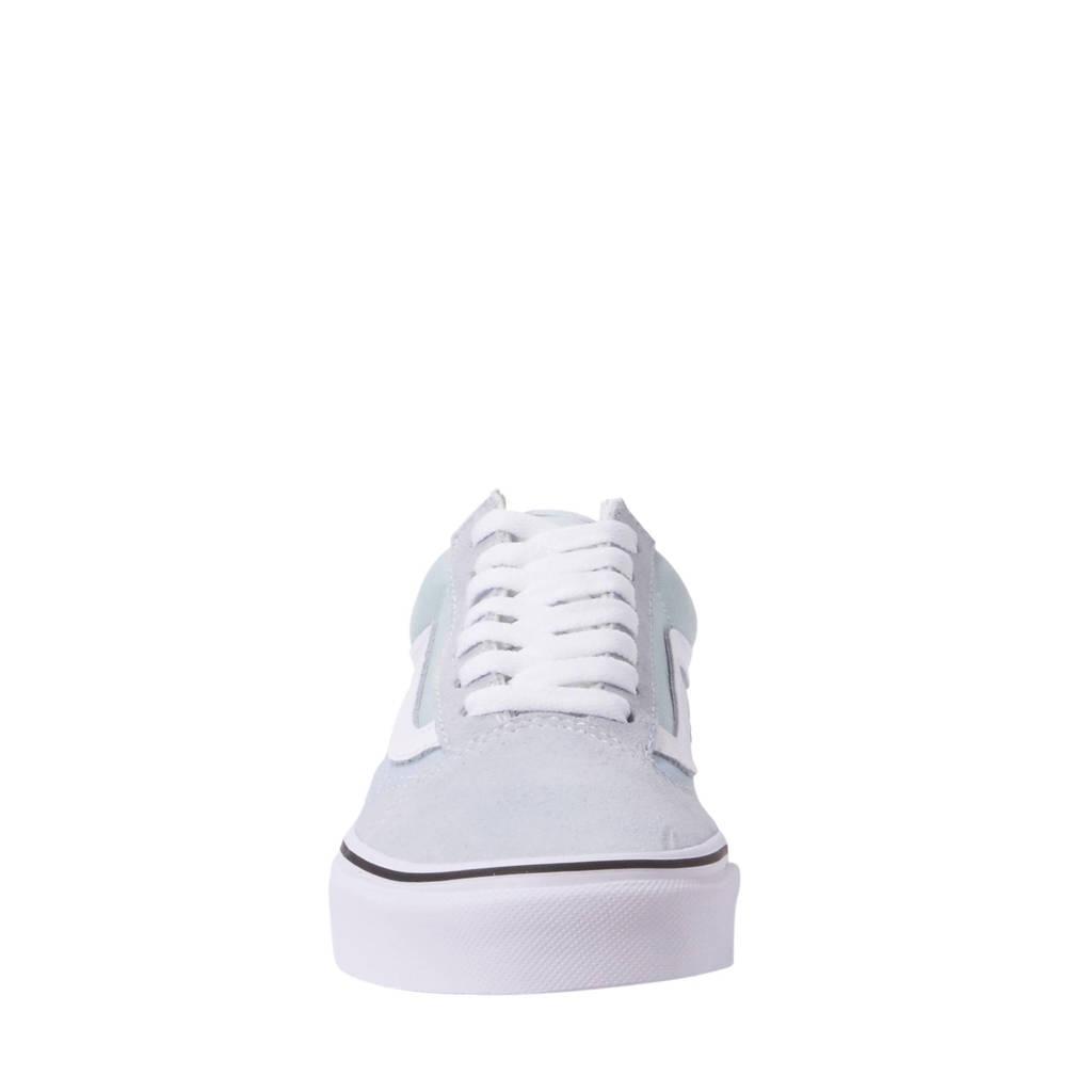 VANS Old Skool sneakers, Lichtblauw /wit /zwart