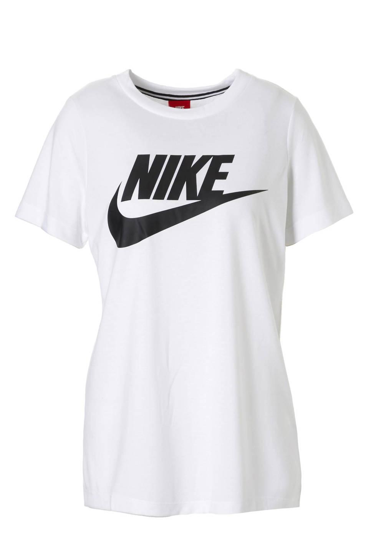 d49378d07ef Nike sport T-shirt, wit/ zwart