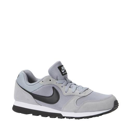 Herensneakers MD Runner grijs-zwart