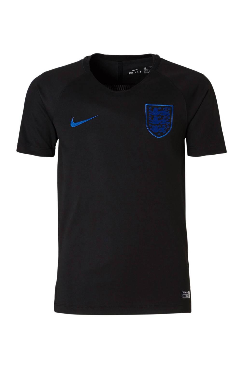 Nike Junior Engeland voetbalshirt, Zwart/blauw