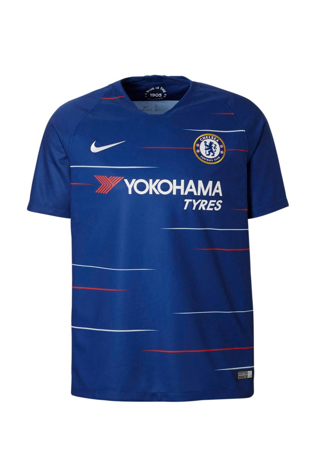 Nike  Chelsea  FC sport T-shirt, Donkerblauw/wit
