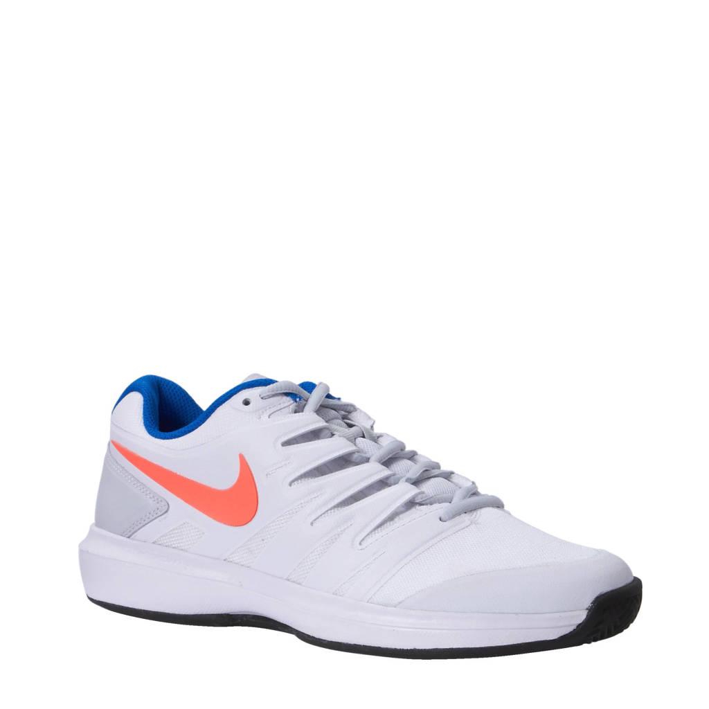 2676e147fa3 Nike Air Zoom Prestige CLY tennisschoenen, Wit /roze /zwart /blauw